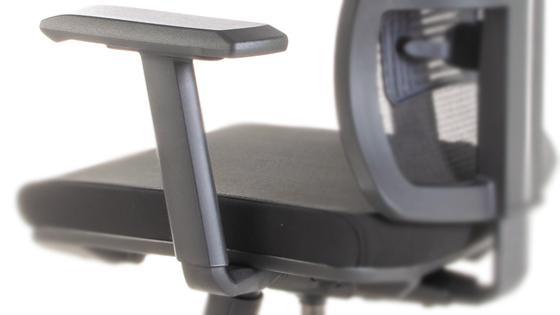 Brazos regulables 2D de la silla ergonómica STARK-2 de Mikra