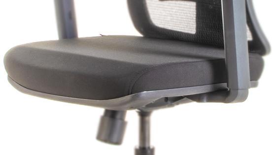 Asiento espuma inyectada de la silla ergonómica STARK-2 de Mikra