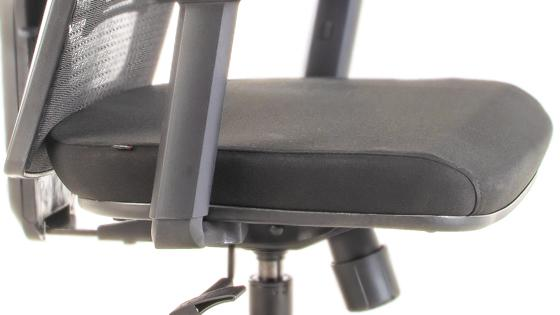 Asiento espuma inyectada silla gerencial MASKA-2 con cabecero