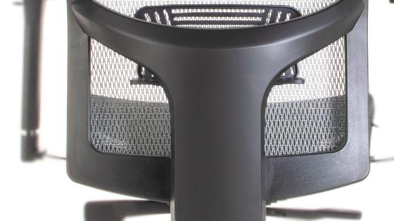 Respaldo de altura regulable de silla ergonómica Maska-X con Cabecero
