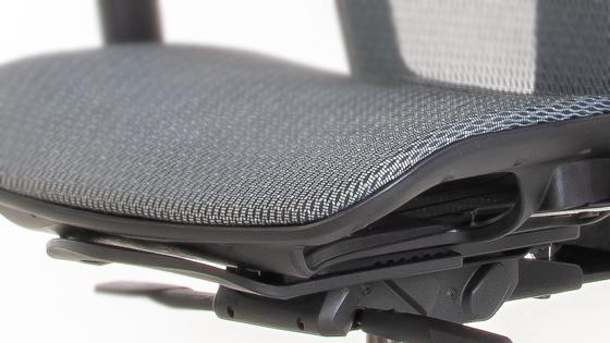 Asiento con Slider de la silla ergonómica MASKA-X de Mikra