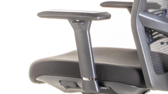 Brazos 3D silla gerencial Maska-1 con Cabecero de Mikra