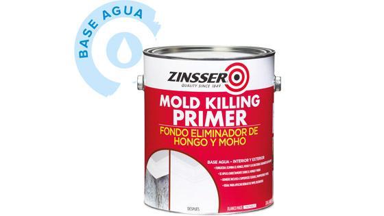 primer, imprimante, zinsser, rust oleum, fungicida, hongo, moho, preparación superficies