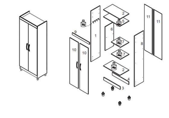 Despensa 2 Puertas