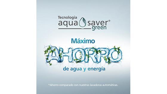 lavadora con ahorro de agua