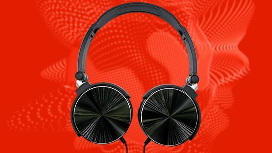 Audífonos on-ear aiwa aw-x107 negro