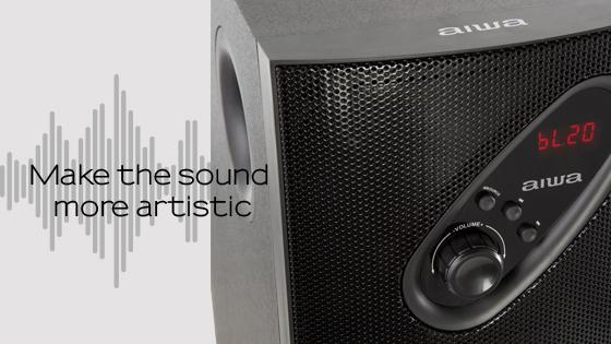 Equipo De Audio 2.1 Aiwa 399BT
