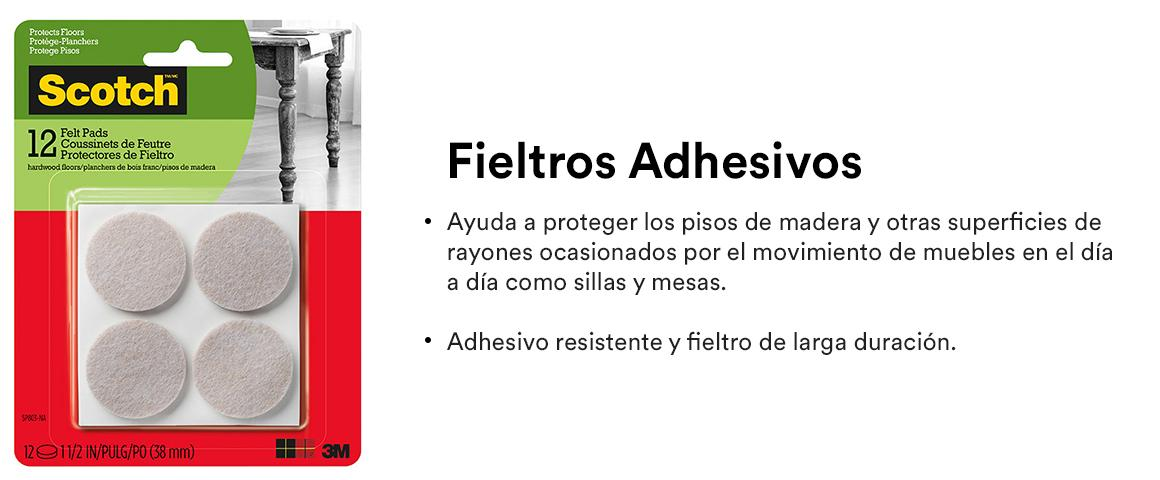 Fieltros adhesivos