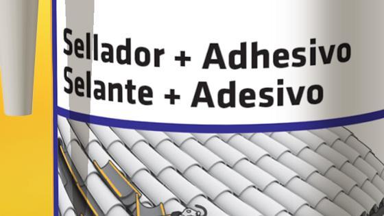 Sellante adhesivo sikaflex