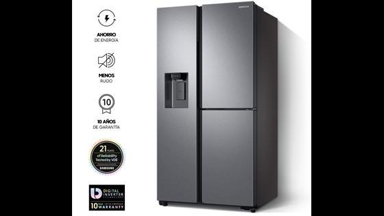 Samsung Refrigerador Side by Side con Tecnología SpaceMax¿