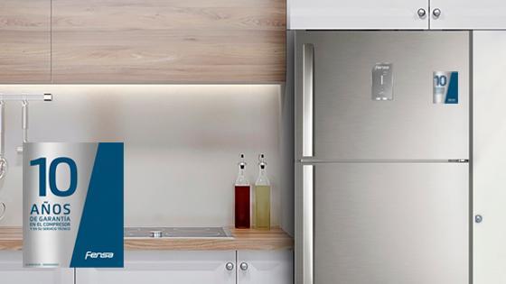 10 años de garantía con el Refrigerador Advantage 5700E