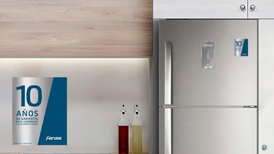 10 años de garantía con el Refrigerador Advantage 5500E