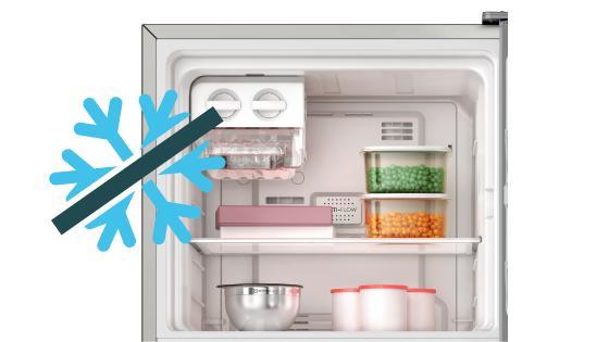 Sistema Frost Free con el Refrigerador Advantage 5500E