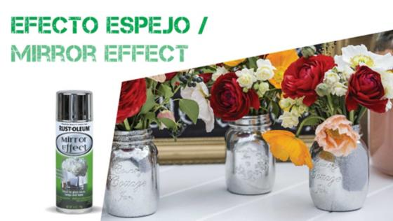 efecto espejo, pintura espejo, mirror effect, pinturas especiales, spray, aerosol, rust oleum, montana, mtn