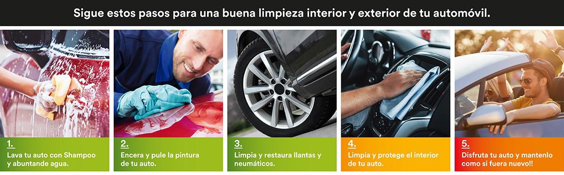 Lava, protege y cuida tu auto