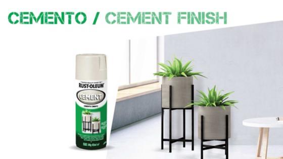 pintura efecto cemento, cemento, pinturas especiales, spray, aerosol, rust oleum, montana, mtn