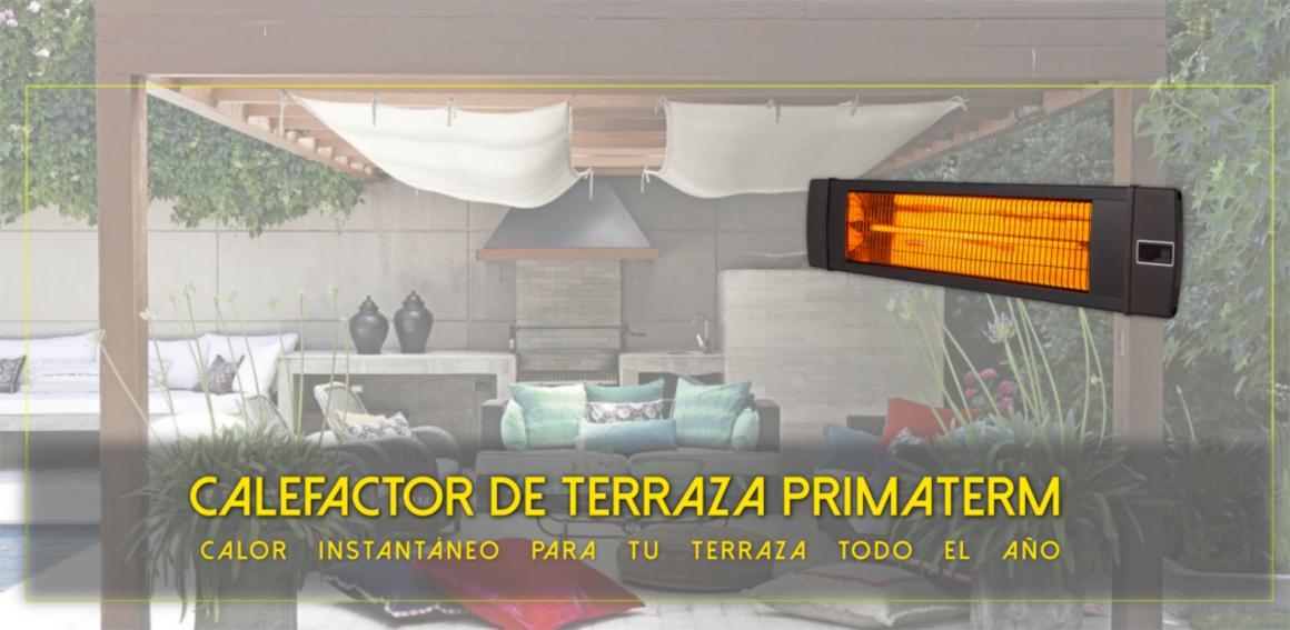 Calefactor Infrarrojo Terraza;