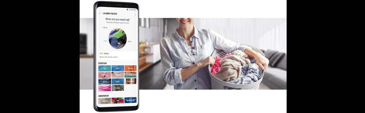 Samsung Lavadora Carga Frontal con dosificador automático, 22 kg