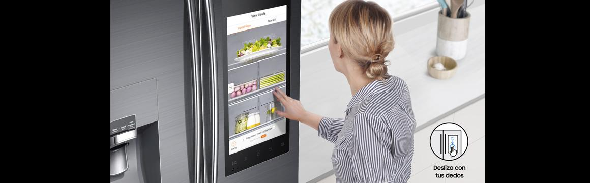 Samsung Refigerador French Door con Family Hub 582 L