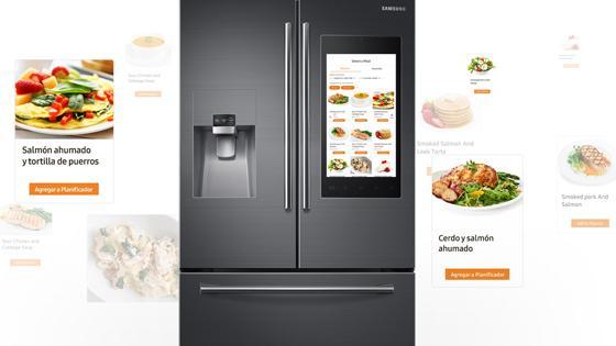 Samsung Refigerador French Door con Family Hub 582 L
