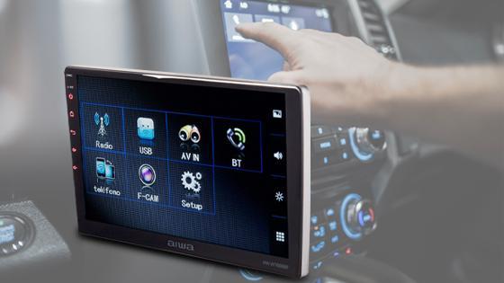Radio auto 2 din touch 10.6