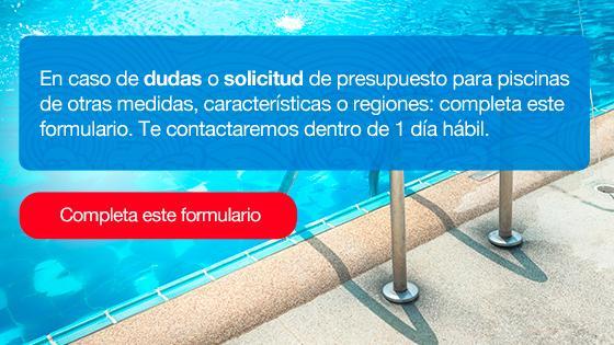 formulario formato construcción piscina