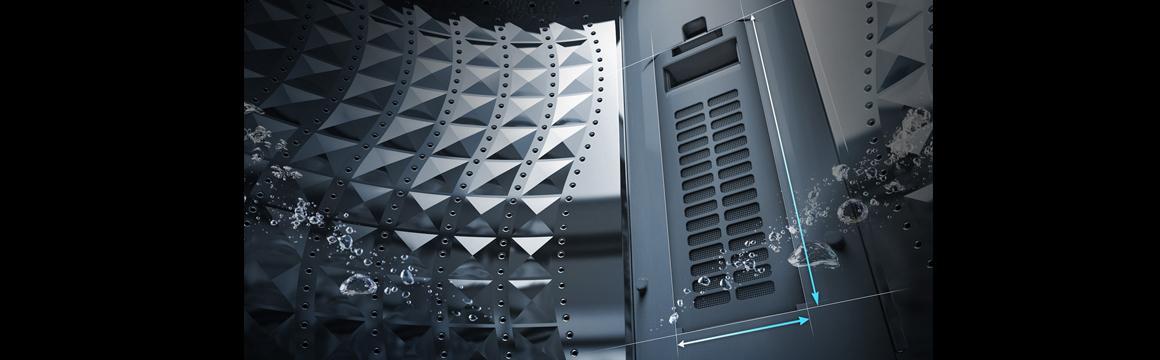 Samsung Lavadora con Tecnología Wobble, 13 kg