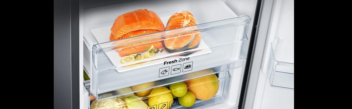 Samsung Bottom Freezer con Tecnología Space Max, 360 L