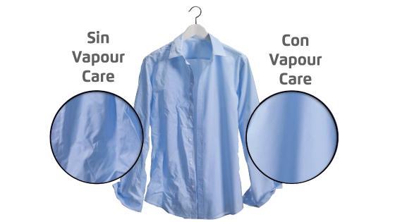 Tecnología Vapour Care con la Lavadora Premium Care 11W