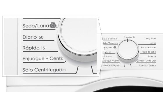 Time Efficient Programs con la lavadora secadora Perfect Care 8WD