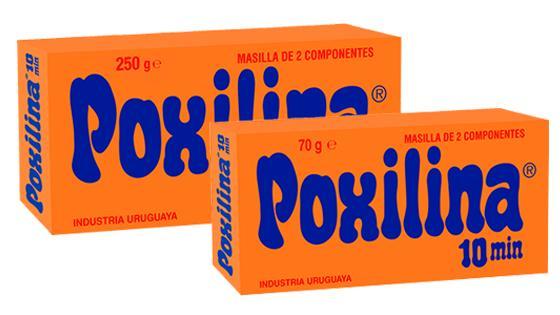 Masilla epoxi Poxilina