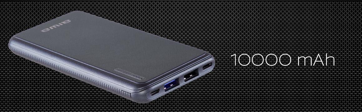 Cargador portátil power bank universal carga rápida paw200