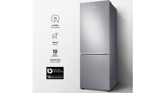 Samsung Bottom Mount de 290L con Optimal Fresh Zone