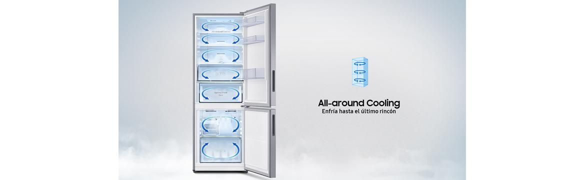 Samsung Refrigerador Bottom Freezer 290 Lt.