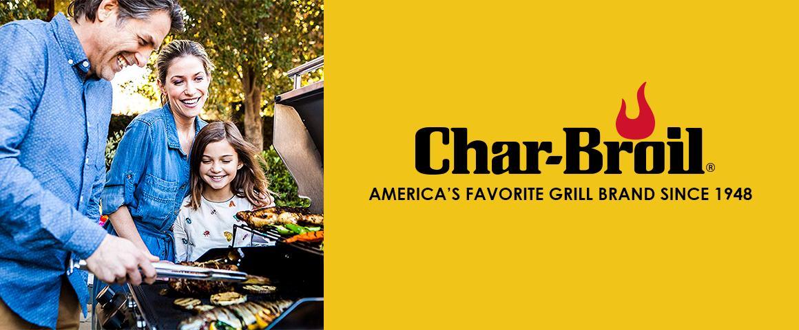 Char-broil Charbroil parrilla carbon