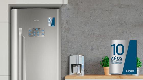 10 años de garantía con el refrigerador BFX70