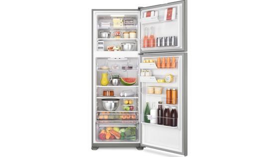 El refrigerador Top Mount con el freezer más grande del mercado* con el refrigerador Fensa DF56S