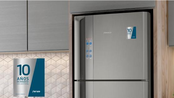 10 años de garantía con el refrigerador Fensa DF56S
