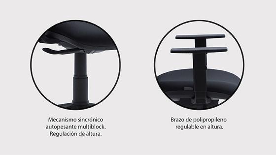 Silla escritorio ergonómica