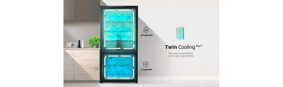 French Door 441 L con Twin Cooling Plus