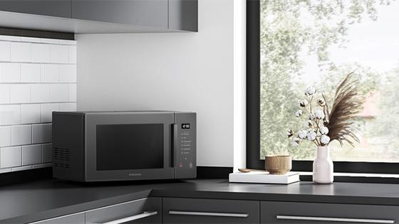 Samsung Microondas Grill Fry Blanco Control Touch, 30 Lts