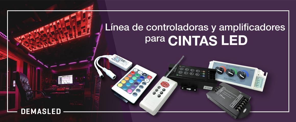 controladora wifi dimmer cintas led rgb 12v accesorios led