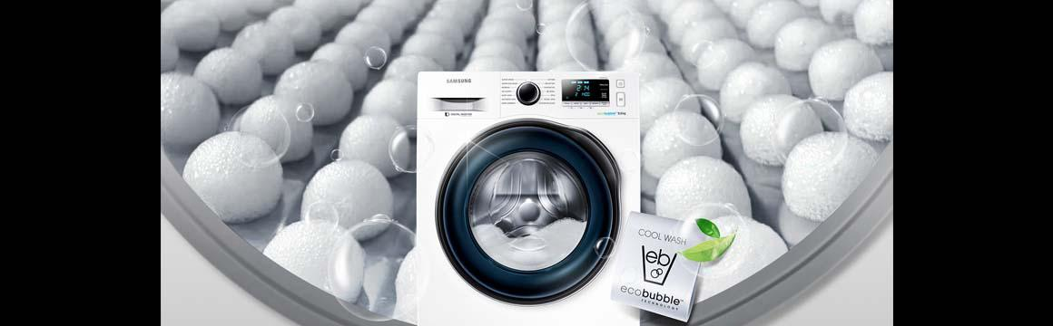 Lavadora con Eco Bubble, 10,5kg