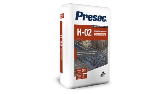 hormigon h02 PRESEC