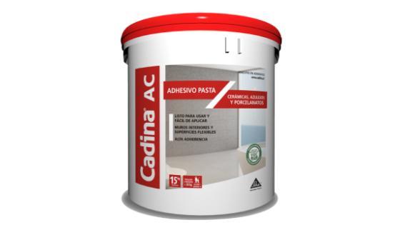 adhesivo cerámico pasta cadina