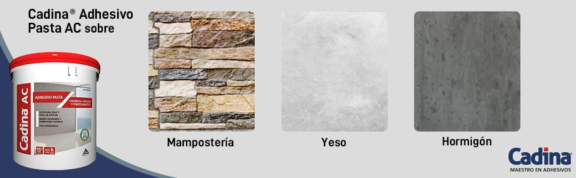 aplicacion adhesivo cerámico pasta