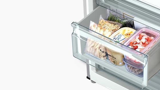 Refrigerador Bottom Mount Freezer con tecnología Mono Cooling, 311 L