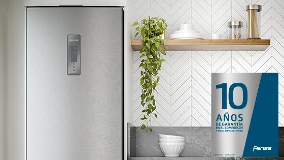 10 años de garantía con el refrigerador Frost Free Bottom Freezer DB60S 322L