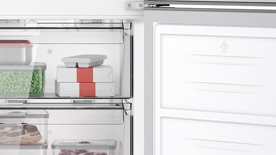 Puerta Reversible con el refrigerador Frost Free Bottom Freezer DB60S 322L