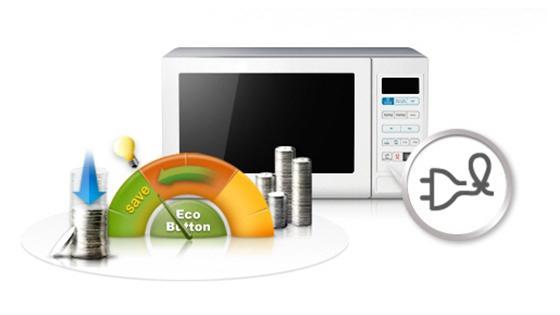 Samsung Microondas Empotrable con Esmalte Cerámico, 23 L